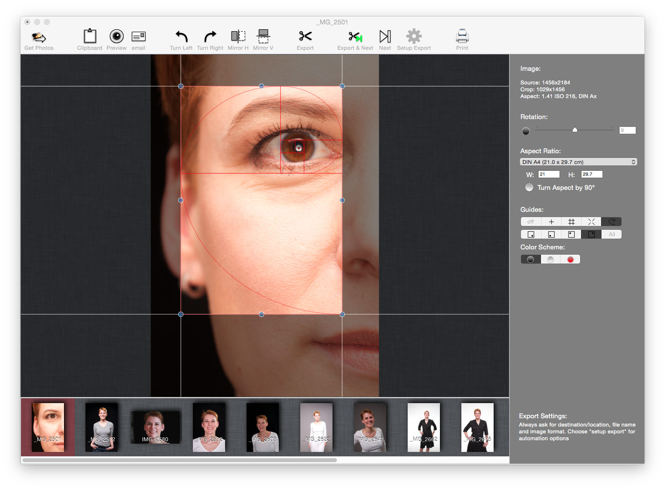 photo crop software windows 7